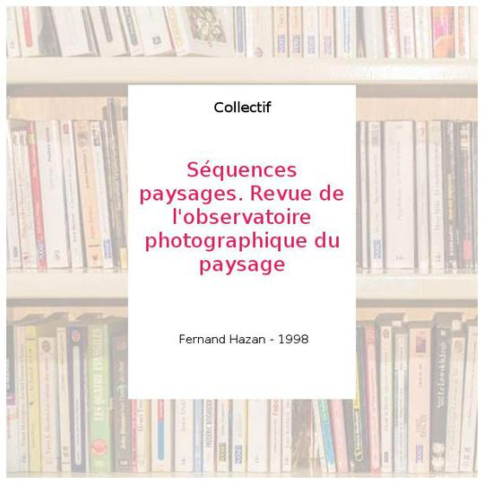 SEQUENCES/PAYSAGES 1997 - Photo 0