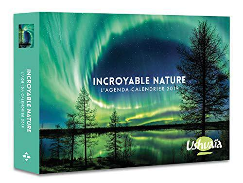 L'agenda-calendrier Incroyable nature par Ushuaia 2019 - Collectif - Photo 0