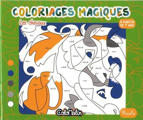Coloriage Magique De Cheval En Ligne.Les Chevaux Coloriages Magiques Sur Label Emmaus Boutique En Ligne