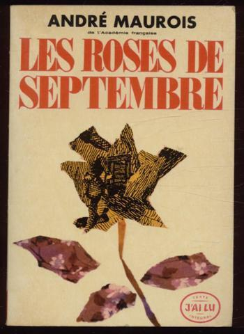 Les Roses de Septembre - Maurois André - Photo 0