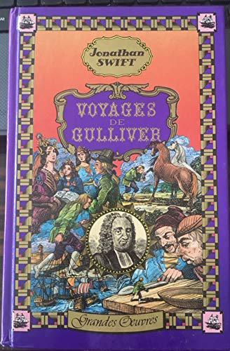 Voyages de Gulliver (Grandes oeuvres) - Jonathan Swift, Walter Scott, Grandville - Photo 0