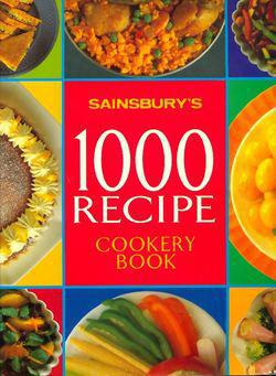 1000 recipe cookery book - Photo 0