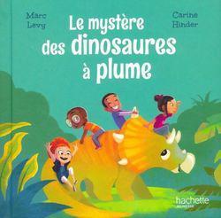 Couverture de le mystère des dinosaures à plume