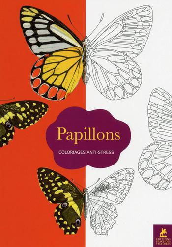 Papillons. 70 coloriages anti-stress - Photo 0