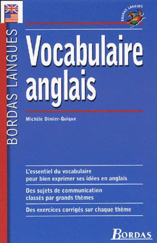 Vocabulaire anglais - Photo 0