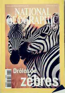 National Geographic n°48 : Drôles de zèbres - Photo 0