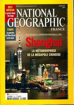 National Geographic n°126 : Shanghai - Photo 0