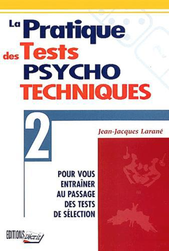 La pratique des tests psychotechniques - Photo 0