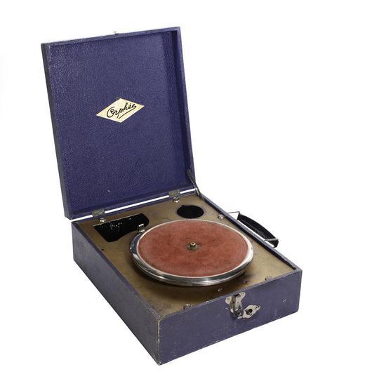 volume grand design intemporel extrêmement unique Gramophone orphée