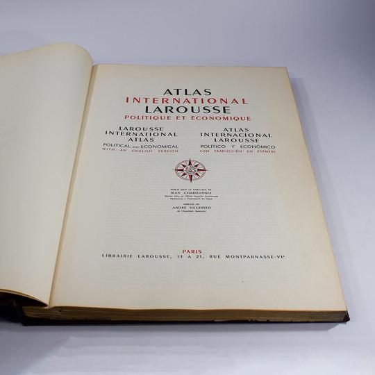 Atlas International Larousse, 1950 - Photo 2