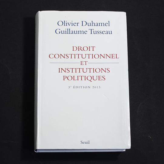 Droit Constitutionnel et Institutions Politiques 2013 - Photo 0