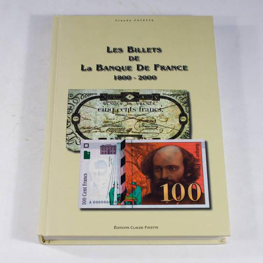 Les Billets de la Banque de France 1800-2000 - Photo 0