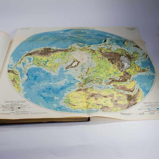 Atlas International Larousse, 1950 - Photo 1