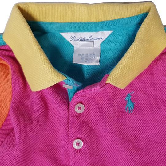 36ea12f4fd66c ... Robe polo Ralph Lauren multicolore bébé 6 mois - Photo ...
