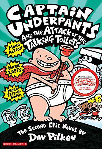 Captain Underpants and the Attack of the Talking Toilets (Captain Underpants #2) - Pilkey, Dav - Photo 0