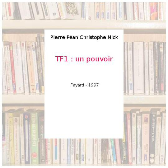 TF1, un pouvoir - Photo 0