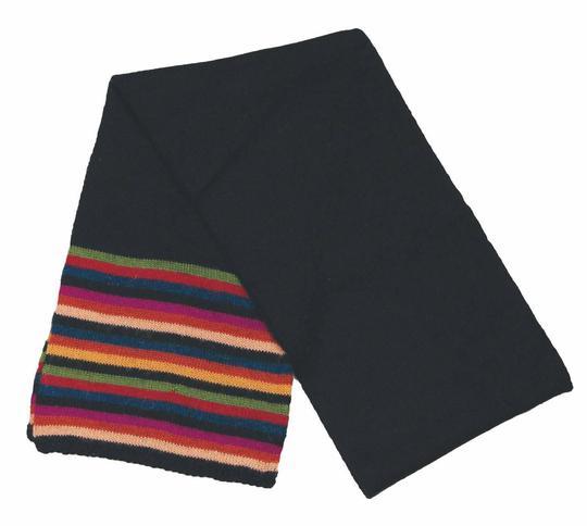 Echarpe Titicaca rayée sur Label Emmaüs, boutique en ligne solidaire 9a1781dd7f8