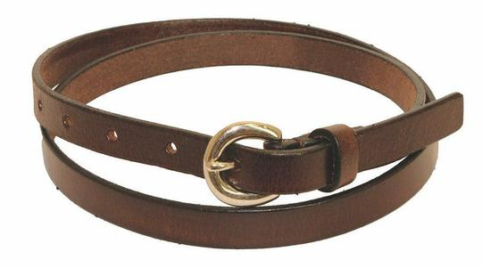 Ceinture fine Falo en cuir - Photo 0