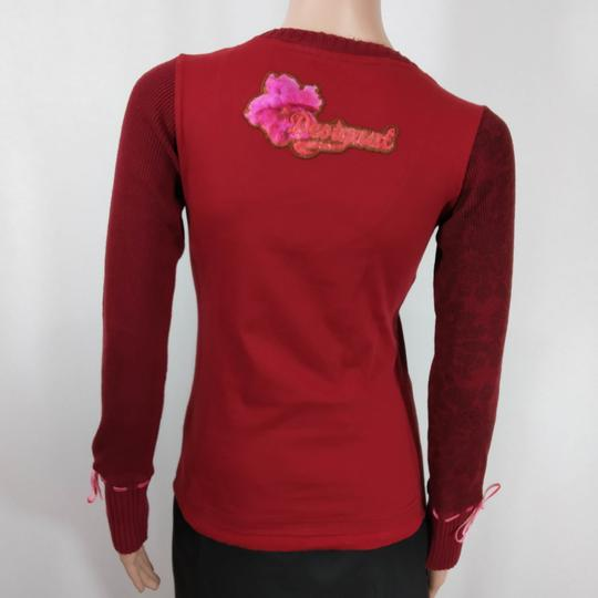 Tee-shirt rouge - Désigual - Taille  XS - Photo 3