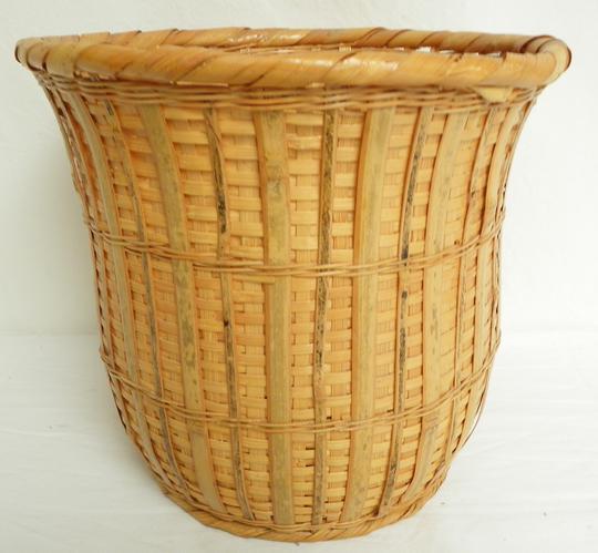 Cache pot bambou