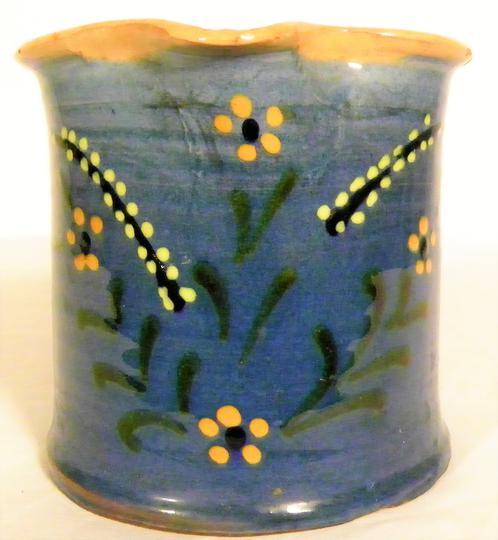 Cruche ou Pichet de la poterie d\'Aulps St-Jean-d\'Aulps au décor ...