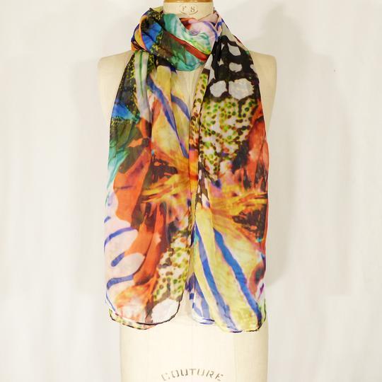 Écharpe multicolore MORGAN sur Label Emmaüs, boutique en ligne solidaire 47ec94255a7