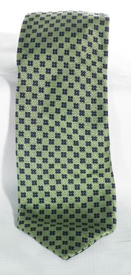 Cravate en Soie Vert Pomme FAçONNABLE sur Label Emmaüs, boutique en ... e1f62c8076e7