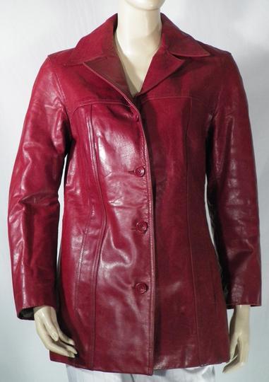 Taille Rouge Redskins Hermès Cuir Femme Label Veste Emmaüs Sur M qxREX1Sn6w