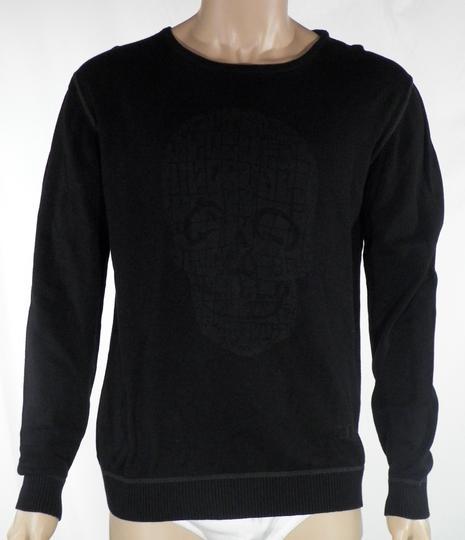 sale retailer popular brand discount shop Pull Homme Noir LIBERTO Taille XL.