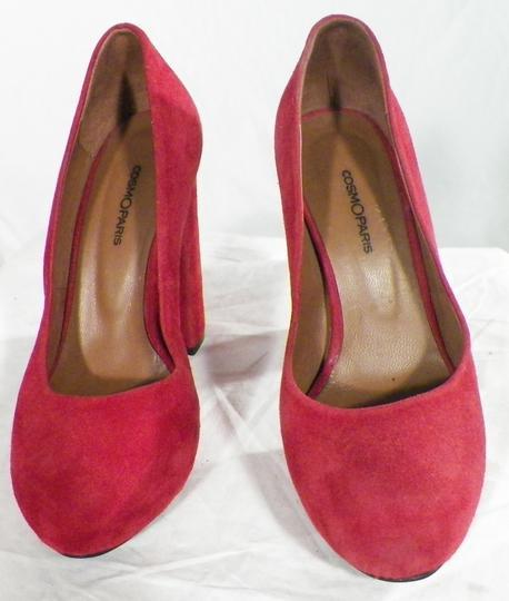 Escarpins Rouge COSMOPARIS Pointure 37. sur Label Emmaüs, boutique ... 1c66e3988cfa