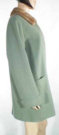 Manteau Femme Vert amande SYM Taille 4244.