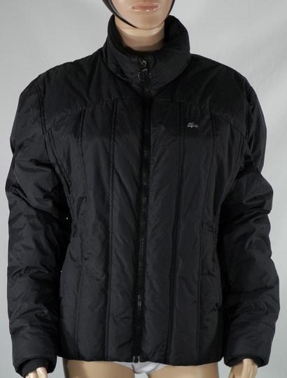 Manteau Femme Noir Lacoste Taille 48 Sur Label Emmaus Boutique En