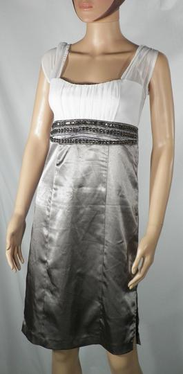 Robe de cocktail Taupe B.P.C Taille 34. sur Label Emmaüs, boutique ... dd41f845f12