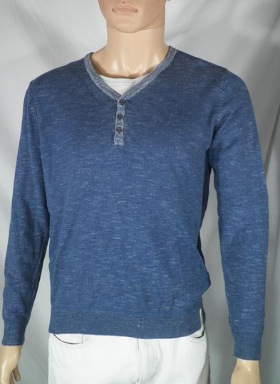 Pull Homme Bleu Chiné TOM TAILOR T M. - Photo 0