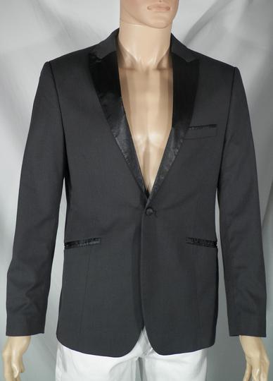 recherche de liquidation économiser jusqu'à 60% offre spéciale Veste Blazer Homme Noire H&M T 48.