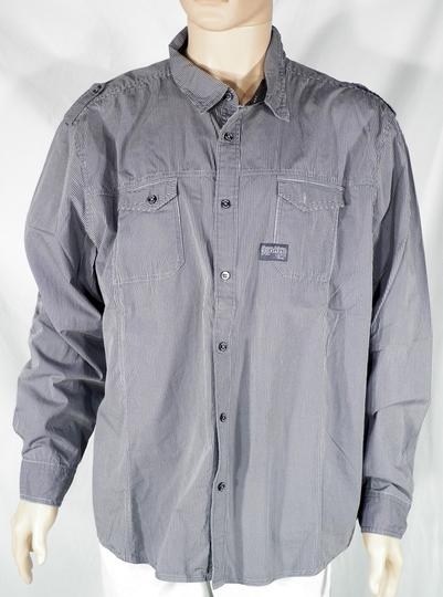 Los Angeles f23af 9bdbc Chemise Homme Grise ANGELO LITRICO T 3XL.