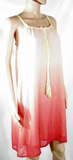 Robe Rose Fluo VILA T XS. - Photo 3