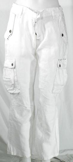 design de qualité d37f9 c0e94 Pantacourt Femme Blanc RG-512 T M.