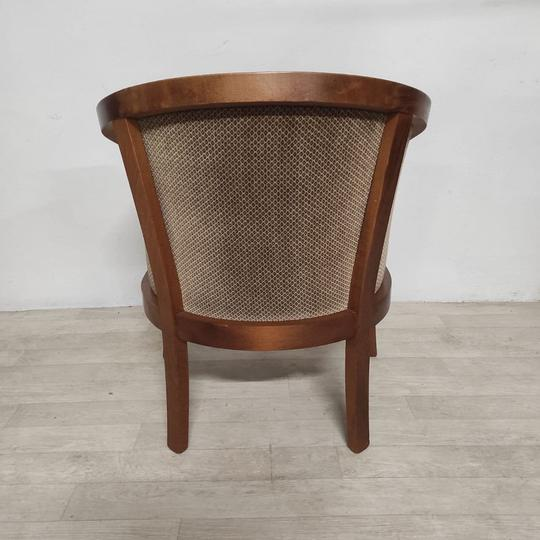 Fauteuil marron vintage - Photo 2