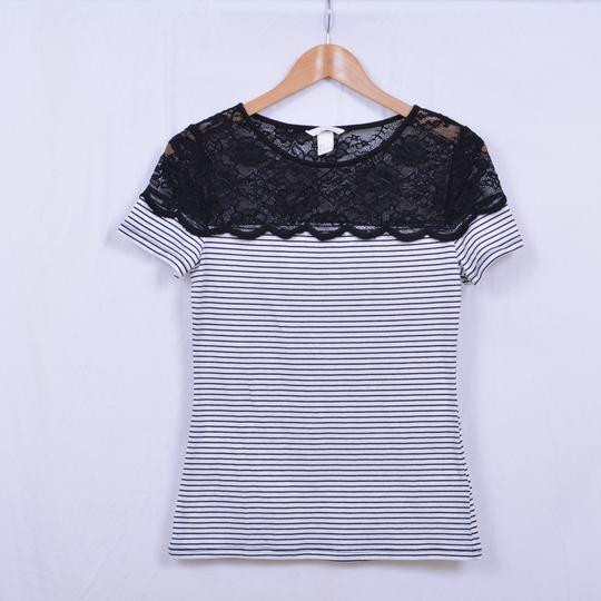 Tee shirt rayé H&M S