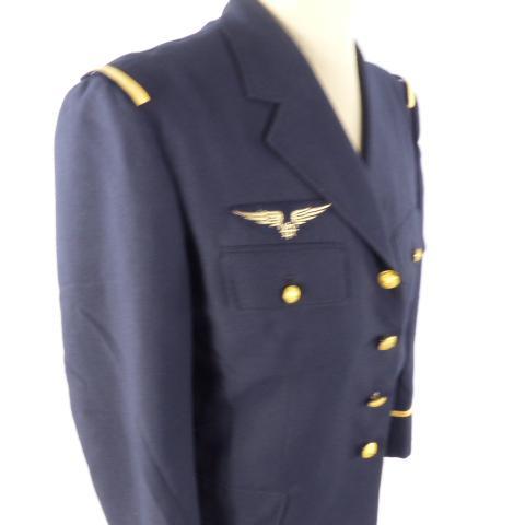 Homme Veste Vintage 48 Taille Pilote Bleu Marine 0OZN8XnwPk