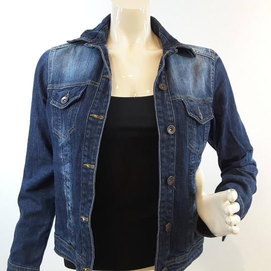 Taille 2 veste en jean délavé pour femme de la marque CACHE CACHE RTTSDS271865