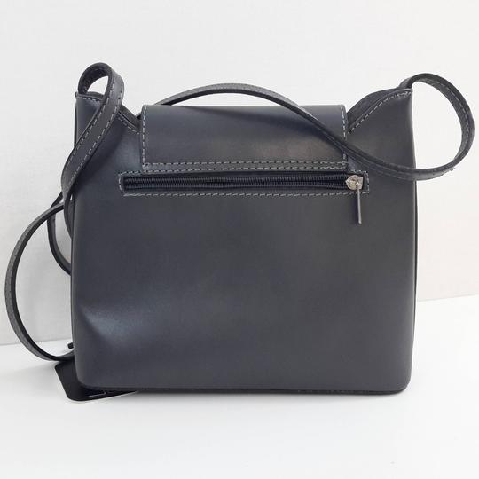 f0852f41c9 ... Sac bandoulière gris 100% cuir pour femme de la marque JEAN LOUIS  SCHERRER RTTSDS301892 ...