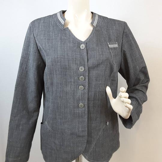 Veste grise pour femme
