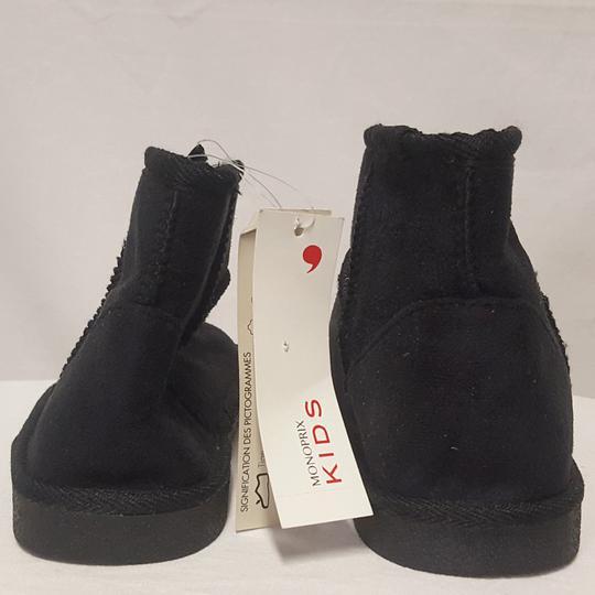 Nouvelle liste regarder site réputé Neuf & étiquette Boots Bottines fourrées Monoprix Kids P 34 façon nubuck
