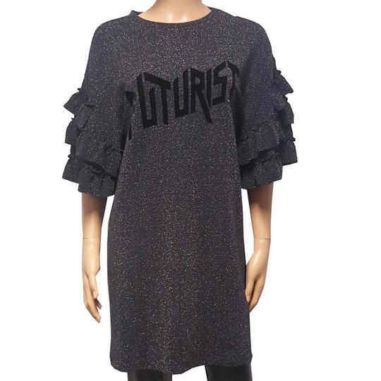 5d9781d7fb4d Neuf   étiquette Robe tunique pailletée Zara T M sur Label Emmaüs ...