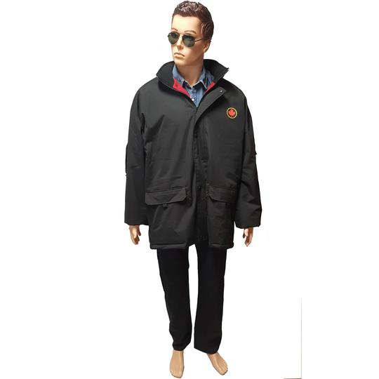 Parka Men Sur Xxl Atlas Manteau Doudoune For Polaire Label T Doublé N0wOm8nyv