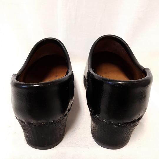 Exceptionnel ... Sabot Traditionnel Galoche En Bois U0026 Cuir Vernis Noir Chaussure  Artisanale P 38   Photo 3