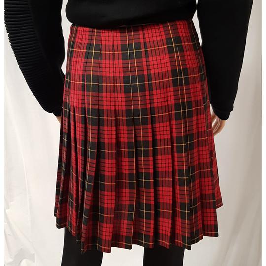 2dd83e2b9b5 ... 2  Jupe plissée écossaise 1.2.3 à carreaux jupe portefeuille vintage T  38 - Photo 3 ...