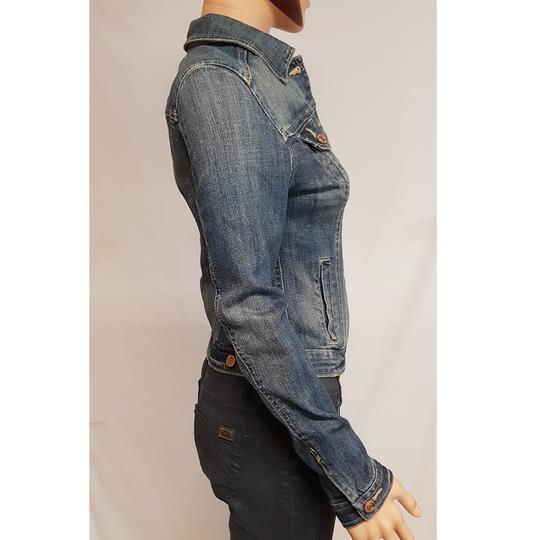 Veste blouson Jean Garage Denim T XS bleu délavé - Photo 3